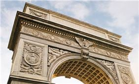Washington Square Park Arch nyc