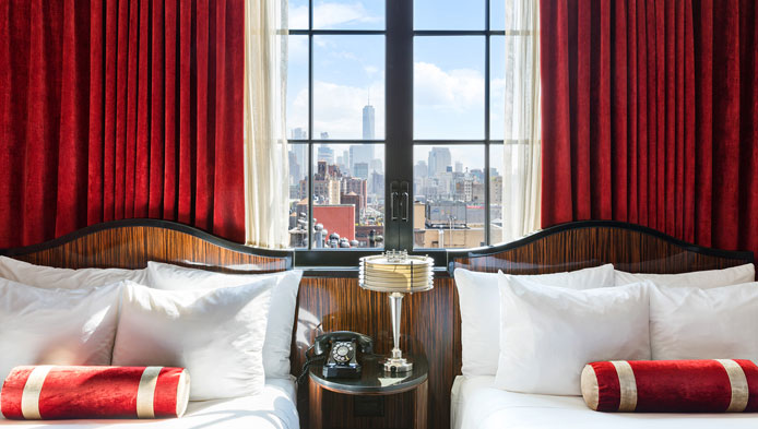 The Bedford Double at Walker Hotel Greenwich Village, NYC