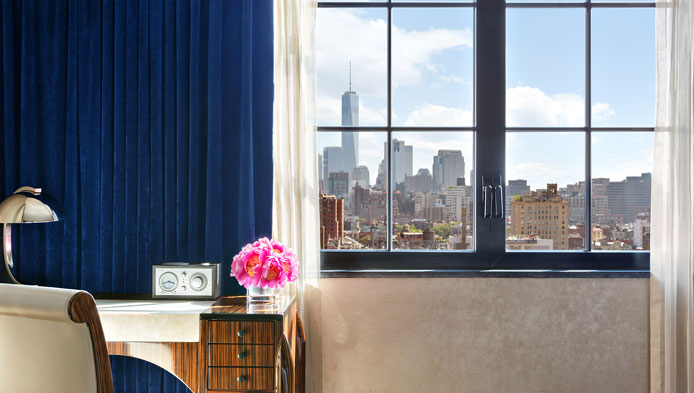 The Waverly Queen at Walker Hotel Greenwich Village, NYC